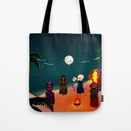 Ritual on da Beach Tote Bag
