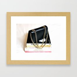 Stylish Reading Framed Art Print
