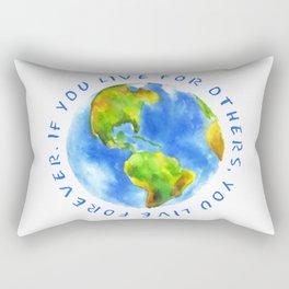 Live For Solidarity Rectangular Pillow