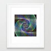 fractal Framed Art Prints featuring Fractal by David Zydd - Colorful Mandalas & Abstrac
