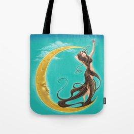 Moon Goddess Tote Bag