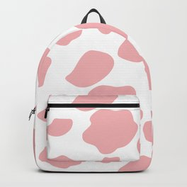 cow print - pink Backpack