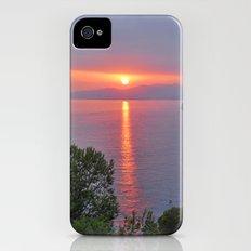 Pink summer iPhone (4, 4s) Slim Case