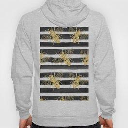 Golden bee noir Hoody
