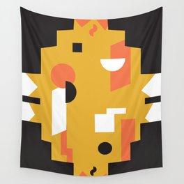 Techno Thunder Wall Tapestry