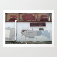 Other Side of the Tracks Art Print