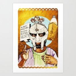 FIGARO: DOOM is my Religion Art Print