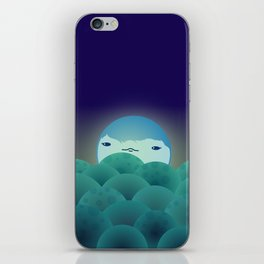 Moonlit Hills iPhone Skin