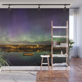 Aurora and the ISS Wall Mural