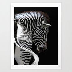 african stripes Art Print