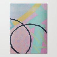 tina crespo Canvas Prints featuring Tina by Maria Kamara