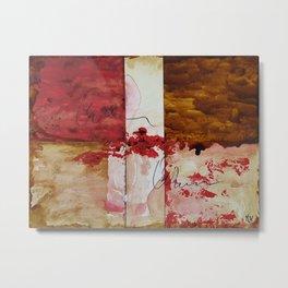 Bleeding Metal Print