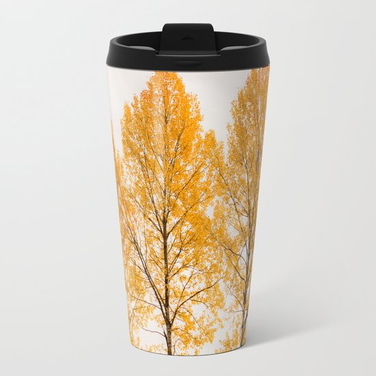 Aspen Trees Metal Travel Mug