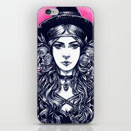 Young Witch iPhone Skin