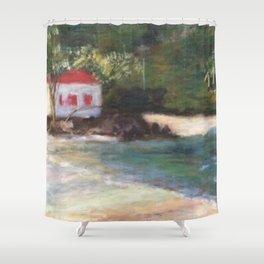 Cinnamon Bay at Sunrise 2 Shower Curtain