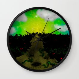 The Journey Through the Mind Wall Clock