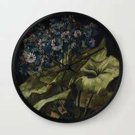 Vincent van Gogh - Cineraria, 1886 Wall Clock
