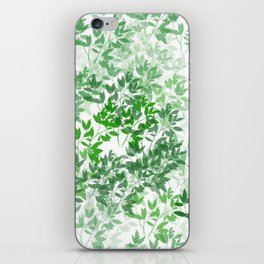 Inspirational Leafy Pattern iPhone Skin