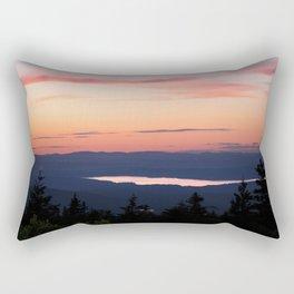Nature landscape sunset mountains Rectangular Pillow