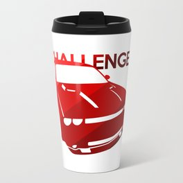 Dodge Challenger - classis red - Travel Mug