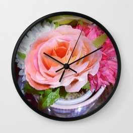 Beauty Flower Wall Clock