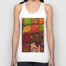 Colorful Candies Unisex Tank Top