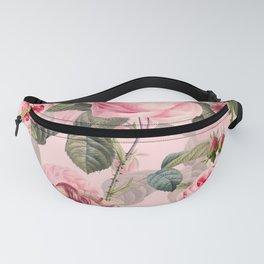 Vintage & Shabby Chic - Summer Roses Flower Garden Fanny Pack