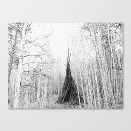 Aspen Teepee Canvas Print
