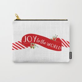 Joy to the World Banner Carry-All Pouch