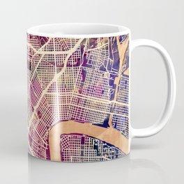 New Orleans City Street Map Coffee Mug