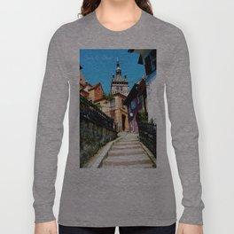 Clock Tower Long Sleeve T-shirt