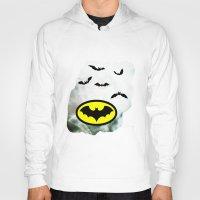 bat man Hoodies featuring Bat man  by haroulita