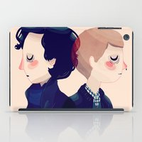 221b iPad Cases featuring 221B by Nan Lawson