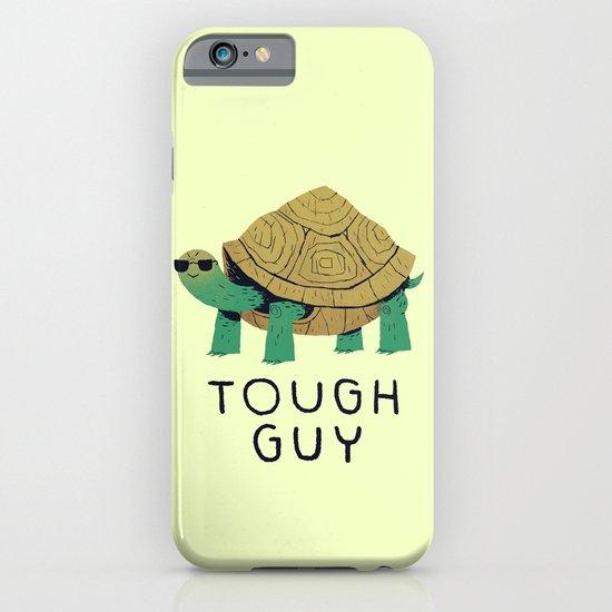 tough guy iPhone & iPod Case