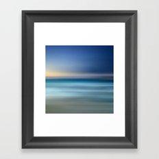 mermaid water I Framed Art Print