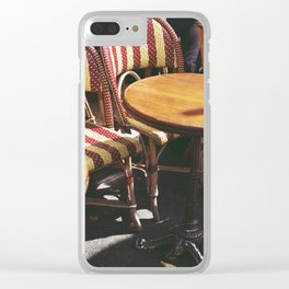 Paris Sun Clear iPhone Case
