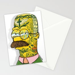 Tatted Up Neighbor Stationery Cards