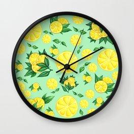 LEMON #1 Wall Clock