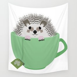St. Patrick's Hedgehog Wall Tapestry