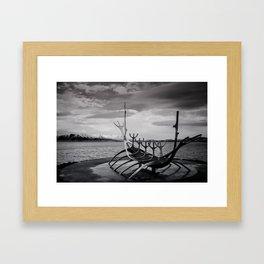 Sun Voyager Framed Art Print