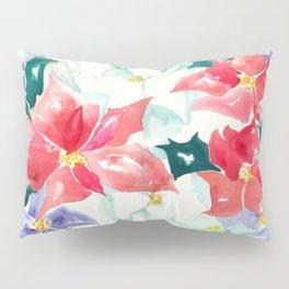 Poinsettia Cheer Pillow Sham