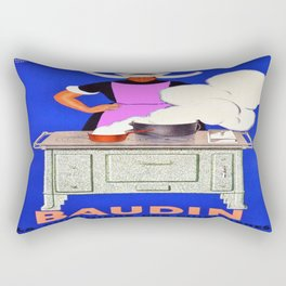 Vintage poster - Baudin Rectangular Pillow
