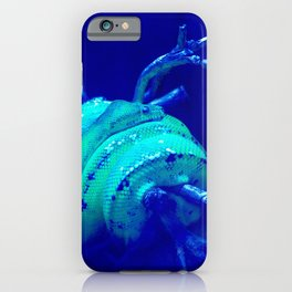 Snake in a tree iPhone Case
