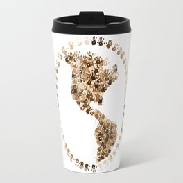 The Earth Is In Our Hands Travel Mug