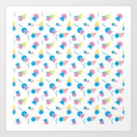 jem Art Prints featuring Jem 2 by Kukka