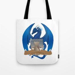 Clan Lochguard Blue Crest Tote Bag