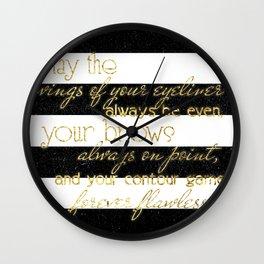 Makeup Lover Wall Clock