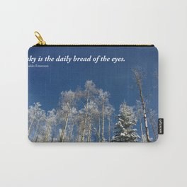 The sky is the daily bread of the eyes Carry-All Pouch