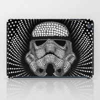 trooper iPad Cases featuring Trooper Star Circle Wars by Msimioni