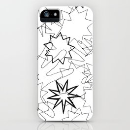 Hands and Stars iPhone Case